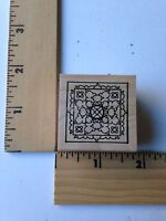 Rare - Outlines Rubber Stamps - Small Frame -