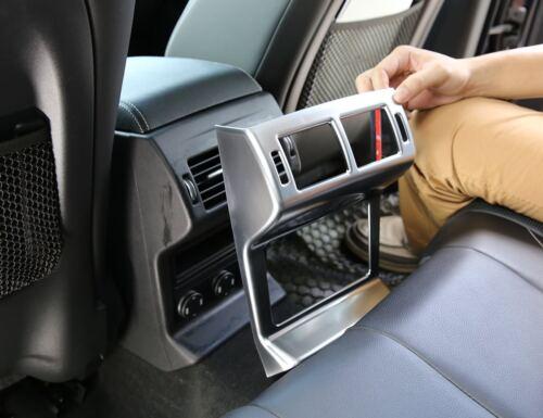 Chrom Rücksitz Klimaanlage Auslauf Rahmen Für Jaguar F Pace X761 2016 2017