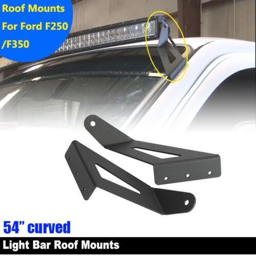 """54/"""" Curved LED Light Bar Mount Bracket for 1999-2015 Ford F250//F350 Super Duty"""