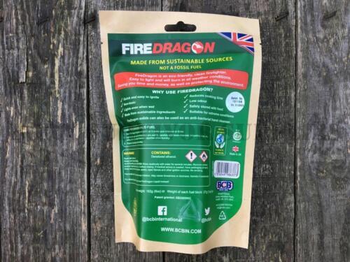 BCB FIRE DRAGON SOLID ECO FUEL Bushcraft Survival Hexi Stove Lighter Firedragon