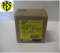 In Box Square D Qo370 3 Phase 3 Pole 70 Amp Qo Breaker Best Deal Fits Nq Pa