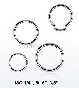 1pc-18G-1-4-034-5-16-034-3-8-034-Steel-Segment-Ring-Ear-Lip-Septum-Cartilage-Nose-Hoop
