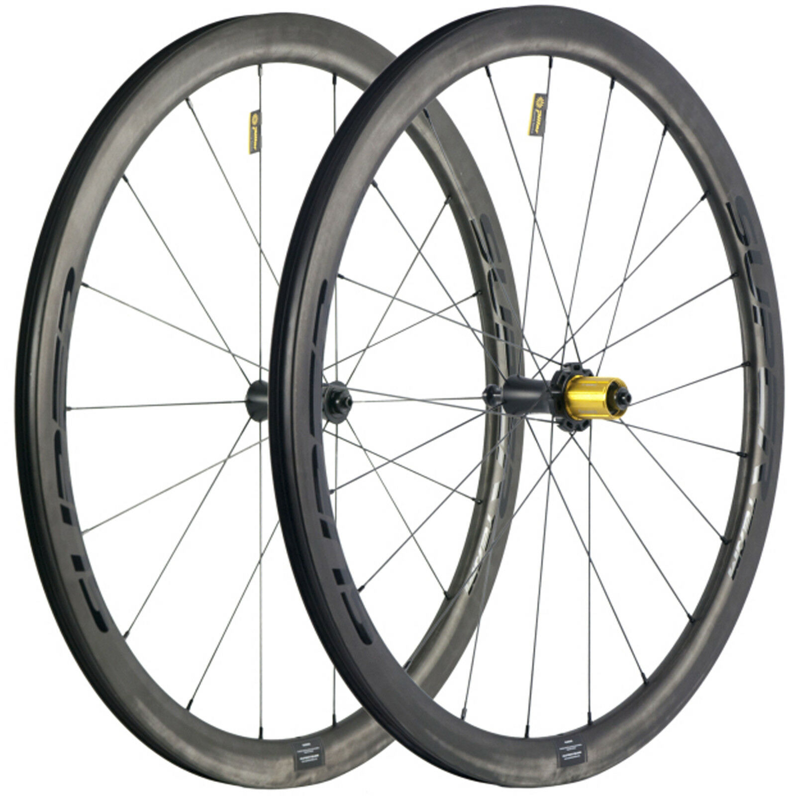 Superteam 40mm Bicycle Wheels  25mm Width Tubeless Carbon Wheelset R7 Ceramic Hub  cheap and top quality