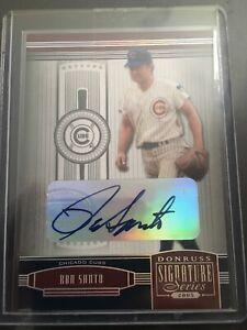 2005-Donruss-Signature-Series-Autograph-Ron-Santo-Chicago-Cubs-SP-HOF