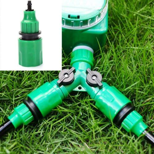 8//11mm 4//7mm Pipe Fitting Tap Adaptor Water Hose Quick Sup Garden Connector N7Y1