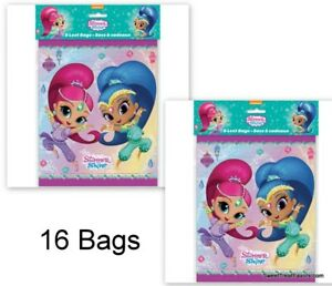 Shimmer and Shine Party Favors Loots Party Birthday Treats Genies Girls *16 PC *