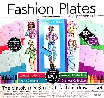 Mega Expansion Set Fashion Plates NEW 01307