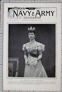 1901-PRINT-HER-MAJESTY-QUEEN-ALEXANDRA