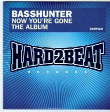 (FI156) Basshunter, Now You're Gone 5 track sampler - 2008 DJ CD