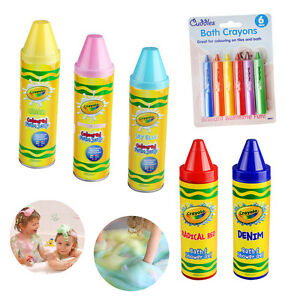 Kids Soap Bath Shower Gel Foam Hair Crayola Coloured Crayons Safe ...