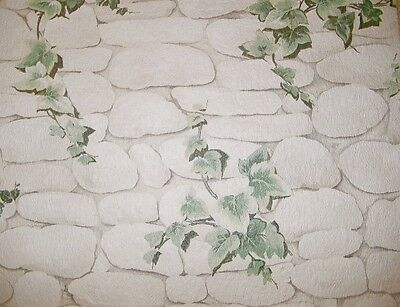 7519-2) 10 Rolls Quality Stamping Wallpaper Ivy-stone Design Special ...