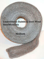 Stainless Steel Wool Reel 5 lb Reel - Medium