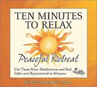 Ten Minutes to Relax: Peaceful Retreat [Digipak] by Paul Overman (CD, Jul-2008, 2 Discs, The Relaxation Company)