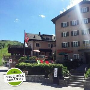 4 Tage Aktiv Reise 3* Hotel Solaria Erholung Biking Wandern Urlaub Bivio Schweiz