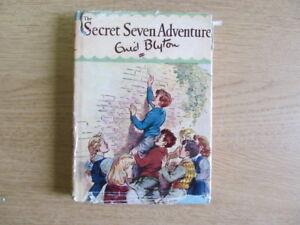 Acceptable-The-Secret-Seven-Adventure-Blyton-Enid-1963-01-01-1967-Wear-and