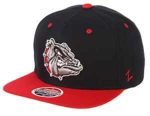 GONZAGA BULLDOGS ZAGS NCAA Z11 ADJUSTABLE 2-TONE SNAPBACK ZEPHYR CAP HAT NEW!