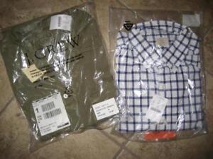 Button 2 quadri J piccola Camicie Nwt Crew a Lot Of taglia Broken Jersey qUAHn8wn