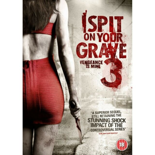 I Spit On Your Grave 3 Dvd Vengeance Is Mine Psychological Horror Thriller For Sale Online Ebay