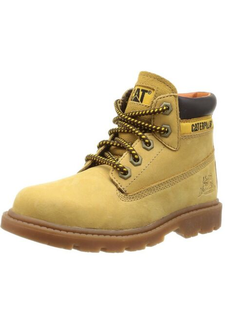 "Caterpillar CAT Boys Colorado Desert Boots [370] UK 13 EU 31 Honey Reset 6"" Boot"