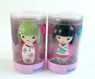 """Kimmidoll Junior Jemma & Leila 3"""" Doll Figures Lot Of 2 NIP Kids Preferred"""