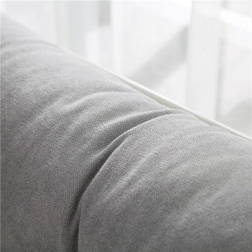 Twin Queen King Velvet Wedge Cushion Backrest Bed Sofa Pillow Reading Triangular