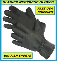 Glacier Glove Kenai Neoprene Gloves Size Small 015bk Free Usa Shipping