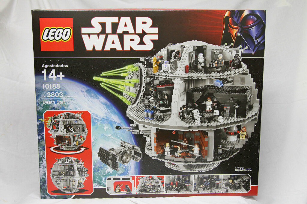 LEGO 10188 Star Wars DEATH STAR all minifigs included AUTHENTIC New SEALED