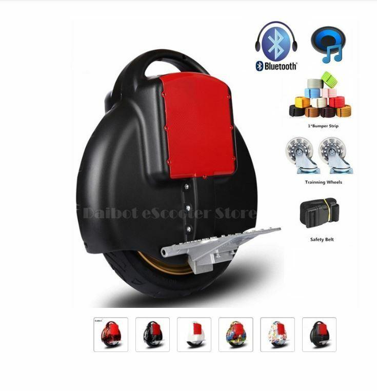 Daibot 350w60v Electric Unicycle Mono One Wheel Self Balance Vehicle NEW