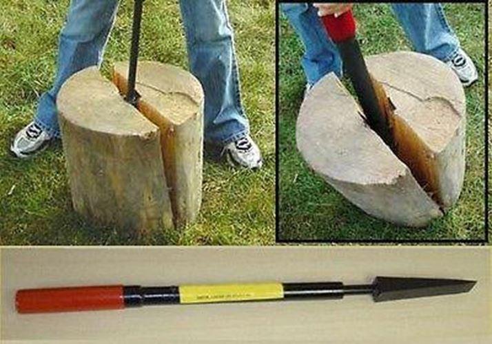 Splitting Wedge//Rotary Wedge Steel 1500//2000//2500g ällkeil Wood Drift Wedge Wood Splitter