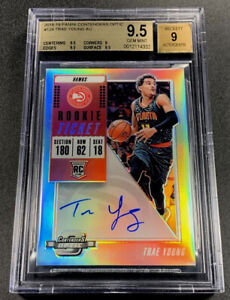 TRAE-YOUNG-2018-CONTENDERS-OPTIC-124-AUTO-ROOKIE-RC-BGS-9-5-GEM-MINT-HAWKS-NBA