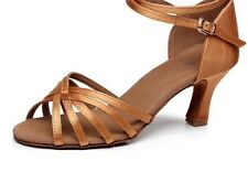 Hot Brand New Woman Ballroom Latin Salsa Dance Shoes 7CM Heels For Dancing