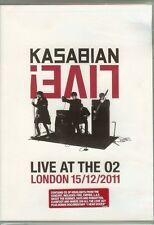 Kasabian - Live! - Live At The O2 - LONDON 15/12/2011 - DVD & CD - NEW