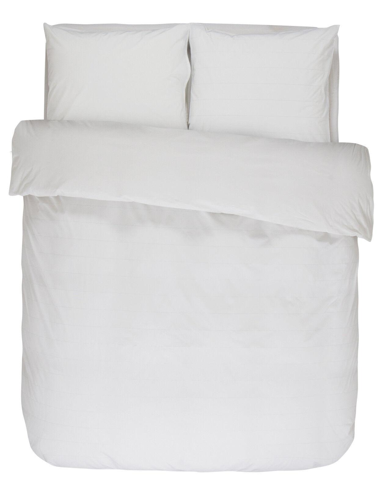 Essenza Bettwäsche Odele Weiß135 155 200 Baumwolle Perkal Lurex Weiß Odele