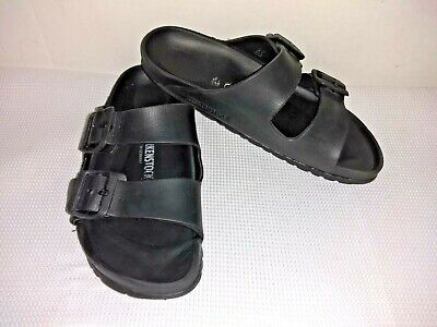 birkenstock black rubber sandals