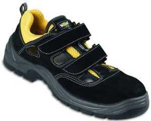 premium selection 6e44f 9555d Details zu Sicherheitssandalen S1 Arbeitssandalen Herren+Damen Sandalen mit  Schutzkappe