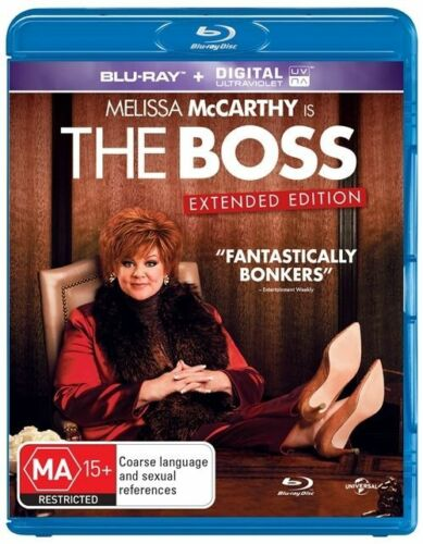 1 of 1 - *Brand New & Sealed* The Boss (Blu-ray, 2016) Comedy movie Melissa McCarthy