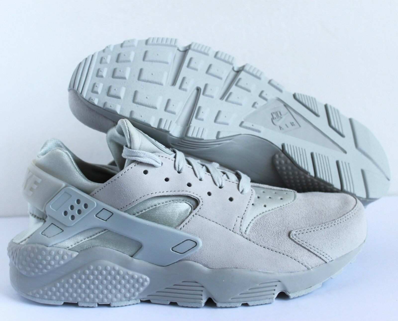 NIKE AIR HUARACHE RUN PRM PREMIUM NEUTRAL GREY SZ SZ SZ 10 [704830-005] 2a80e3