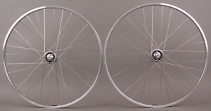 H-Plus-Son-TB14-Silver-Road-Bike-Suzue-Hubs-8-11-Speed-L-Eroica-Style-Wheelset