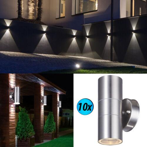 Mur Extérieur Projecteur Cour Entrée UP DOWN éclairage en acier inoxydable lampes véranda