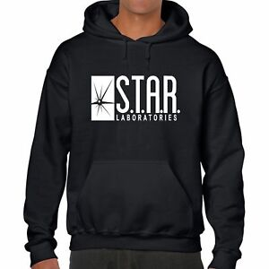0ccc996e05e9 Image is loading STAR-LABS-HOODIE-jumper-top-laboratories-the-FLASH-