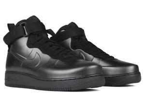 bae5de572d7 NIKE AIR FORCE 1 FOAMPOSITE CUP CUPSOLE AH6771 001 TRIPLE ALL BLACK ...