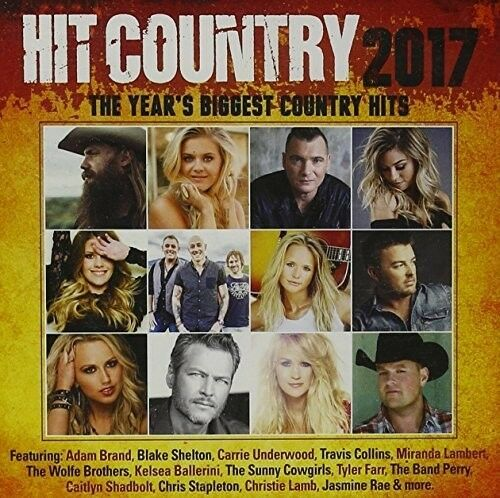 Various Artists - Hit Country 2017 / Various [New CD] Australia - Import