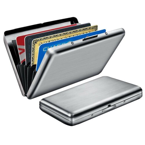 Metal Contactless Card Protector for Men Women,RFID Holder RFID Blocking Wallet