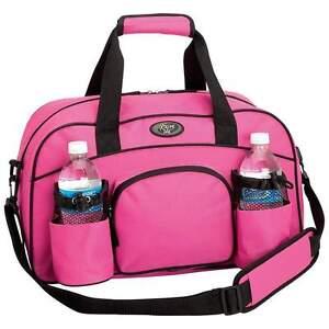Womens Pink Tote Bag Sports Duffle Bag Workout Gym Bag Yoga Bag ...