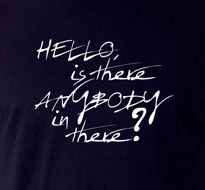 Is There Anybody In There Pink Floyd • Hello • The Wall Fan T-Shirt • GR8 gift