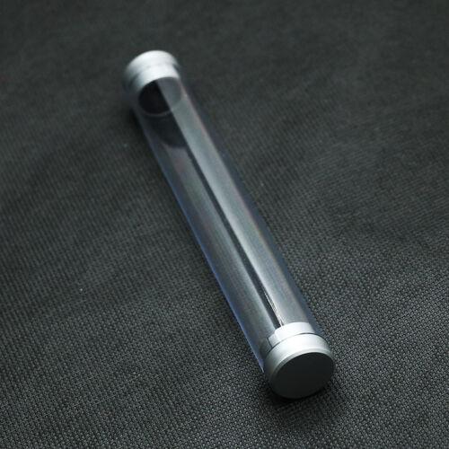 Cylinder Case Pen Storage Box Stationery Organizer School Office Use TranspareWH