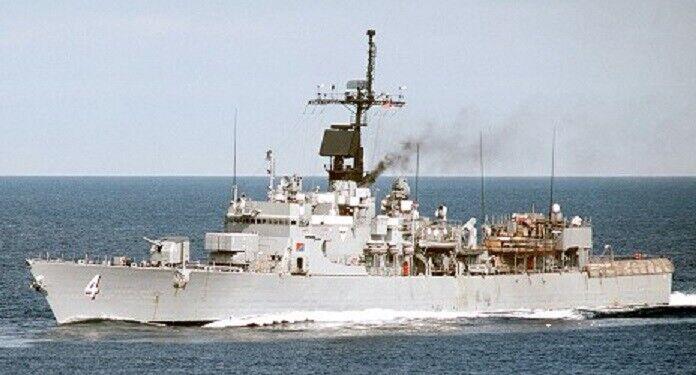 1 350 ISW 4204 - USS Talbot  FFG-4 Long Bridge  - Resin & PE Model Kit