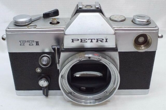 Petri FT-II Film Camera