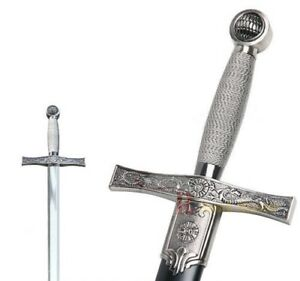 Knights Of The Round Table Swords.Medieval King Arthur Excalibur Knights Of The Round Table Templar