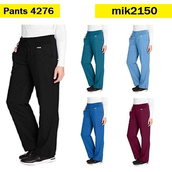1658e8c8aa6 Grey's Anatomy Active Women's 4276 Yoga Knit Waist Scrub Pant X-small Petite  Indigo | eBay